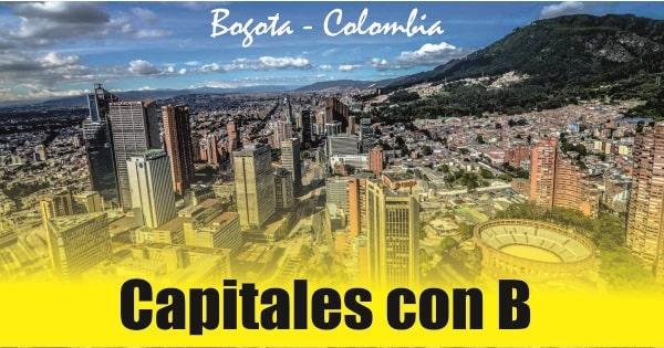 Capitales de paises con B