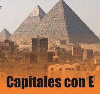 capitales de países con E