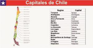 Capitales de Chile