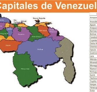 Capitales de Venezuela
