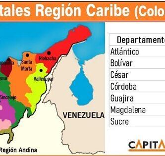 ciudades de la region caribe