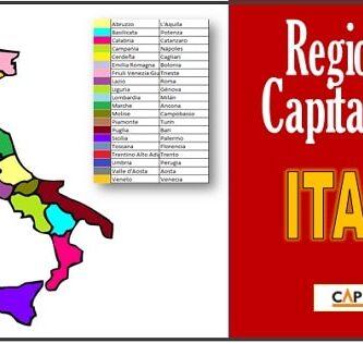 Regiones y capitales de Italia