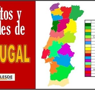 Distritos y capitales de Portugal